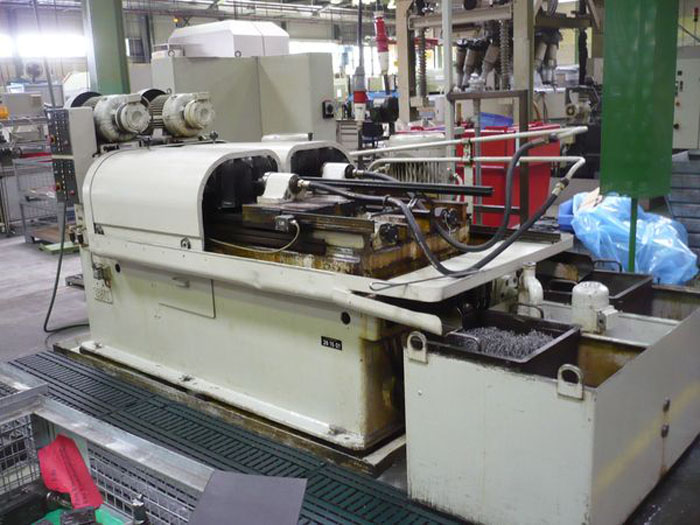 Used deep hole drilling machine interior