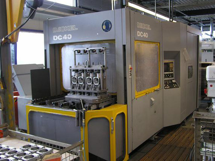 Used horizontal machining centre general view