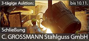Schließung Gießerei C. Grossmann