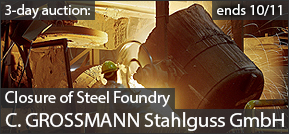 Steel Foundry Closure C. Grossmann