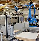 Centro de mecanizado HOMAG Profi CNC con robot KUKA